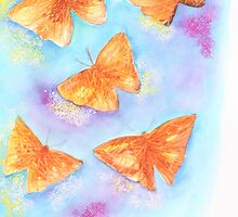 Cheerful Butterflies by ashimakaushik