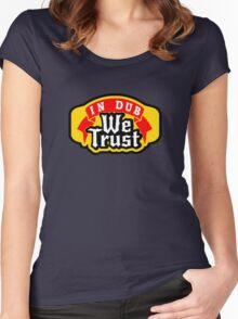VW dub t shirt Women's Fitted Scoop T-Shirt