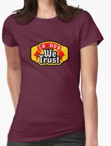 VW dub t shirt Womens Fitted T-Shirt