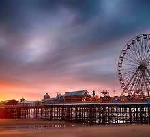Blackpool Central Pier by Mark Sykes