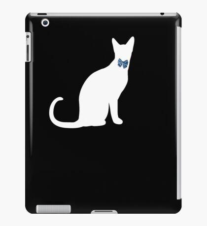 cool cat in a tux iPad Case/Skin