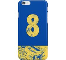 Vault 8 - Classic Blue iPhone Case/Skin
