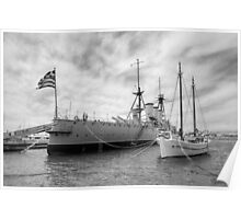 Battleship Averof Poster