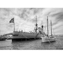 Battleship Averof Photographic Print