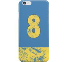 Vault 8 - Light Blue iPhone Case/Skin