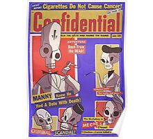 Confidential Magazine Cover Poster