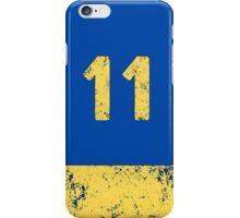 Vault 11 - Classic Blue iPhone Case/Skin