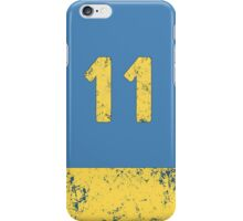 Vault 11 - Light Blue iPhone Case/Skin