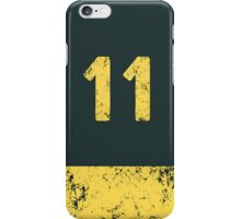Vault 11 - Vintage Blue iPhone Case/Skin