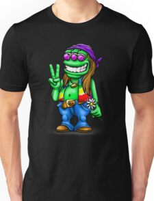 Alien Hippie Unisex T-Shirt