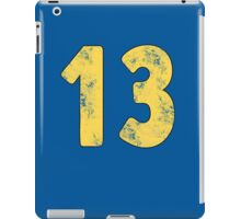 Vault 13 - Light Blue iPad Case/Skin