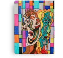 The Envious Partner Canvas Print