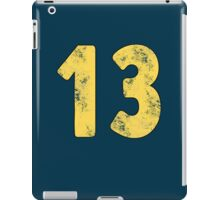 Vault 13 - Vintage Blue iPad Case/Skin