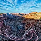 white rim canyonlands utah by Alexandr Grichenko