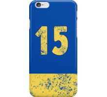 Vault 15 - Classic Blue iPhone Case/Skin