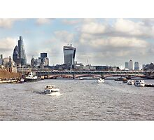 London Blackfriars Bridge Photographic Print