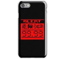 metal gear solid radar alert iPhone Case/Skin