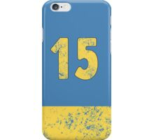 Vault 15 - Light Blue iPhone Case/Skin