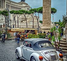 Rome: let's do Europe in a VW Beatle by Juvani Photo | Digital Art