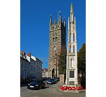 St Marys and the War Memorial Photographic Print