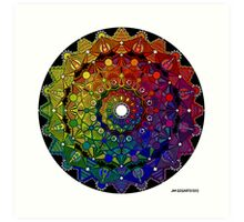 Mandala 46 T-Shirts, Hoodies and Stickers and cases - Jim Gogarty Art Print