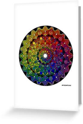 Mandala 46 T-Shirts, Hoodies and Stickers and cases - Jim Gogarty by mandala-jim