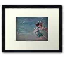 CHIHIRO & HAKU  Framed Print