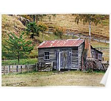 Picturesque decay in Pig Valley Poster