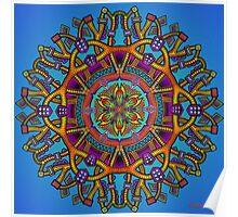 Mandala 55 - Jim Gogarty Poster