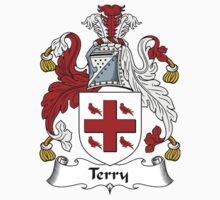 Terry Coat of Arms / Terry Family Crest by William Martin