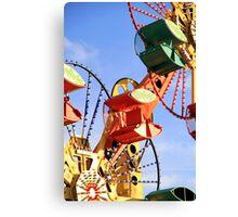 Theme Park Ride Canvas Print