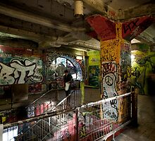 Interior of the Kunsthaus Tacheles by photoeverywhere