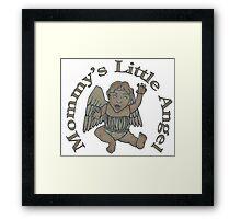 Mommy's Little Angel Framed Print