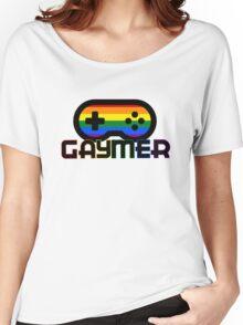 Rainbow Gamer Gaymer Women's Relaxed Fit T-Shirt