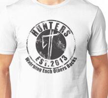 Hunter Est Tee (Black)  Unisex T-Shirt