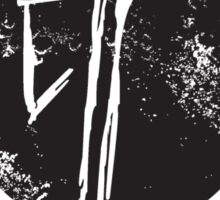 Hunter Est Tee (Black)  Sticker