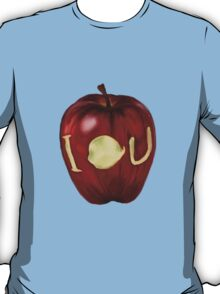 Moriarty IOU apple- BBC Sherlock T-Shirt