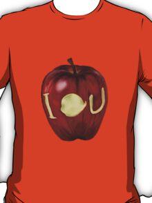 Moriarty IOU apple- BBC Sherlock T-Shirt