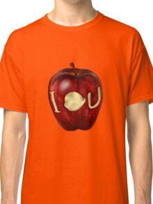 Moriarty IOU apple- BBC Sherlock Classic T-Shirt