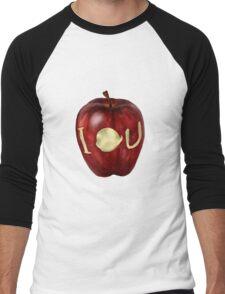 Moriarty IOU apple- BBC Sherlock Men's Baseball ¾ T-Shirt