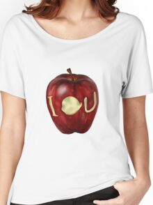 Moriarty IOU apple- BBC Sherlock Women's Relaxed Fit T-Shirt