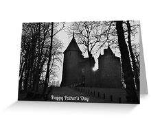 Castell Coch Father's Day Card Greeting Card