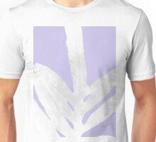 Green Fern on Ice Lavender Unisex T-Shirt