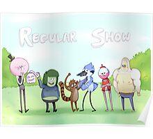 Regular Show / Print Poster