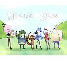 Regular Show / Print Photographic Print