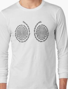 These are not my eyes Long Sleeve T-Shirt