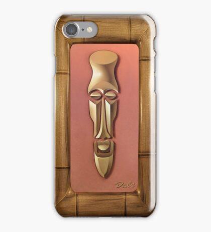 Tiki Moderne 1 iPhone Case/Skin