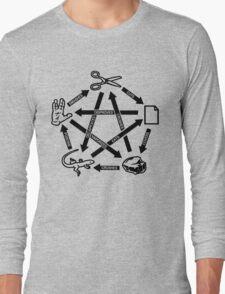 Rock Paper Scissors Lizard Spock T-Shirt Long Sleeve T-Shirt