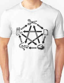 Rock Paper Scissors Lizard Spock T-Shirt T-Shirt