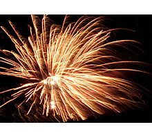 Fireworks Photographic Print